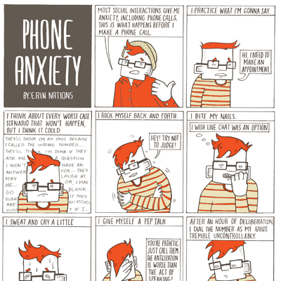COMICS BEAT (AUG 04 2017) INTERVIEW: ERIN NATIONS EXPLORES PHONE ANXIETY AND GENDER IN GUMBALLS BY ALEX DUEBEN