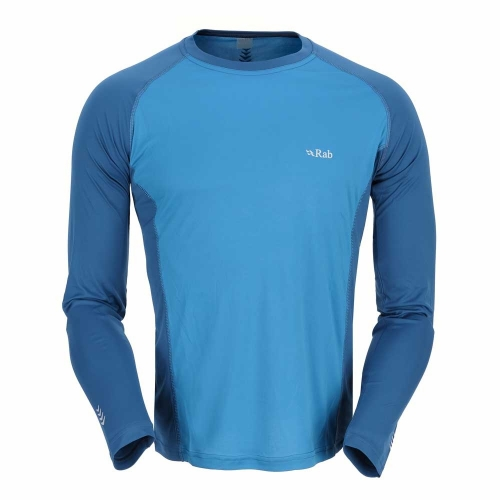Rab Aeon Long Sleeve Tee. Couldn't find a photo of wearing just this, so heres another photo from the internet.