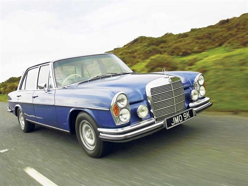 Mercedes benz w108 and w109 review ccfs uk for Mercedes benz w108 for sale