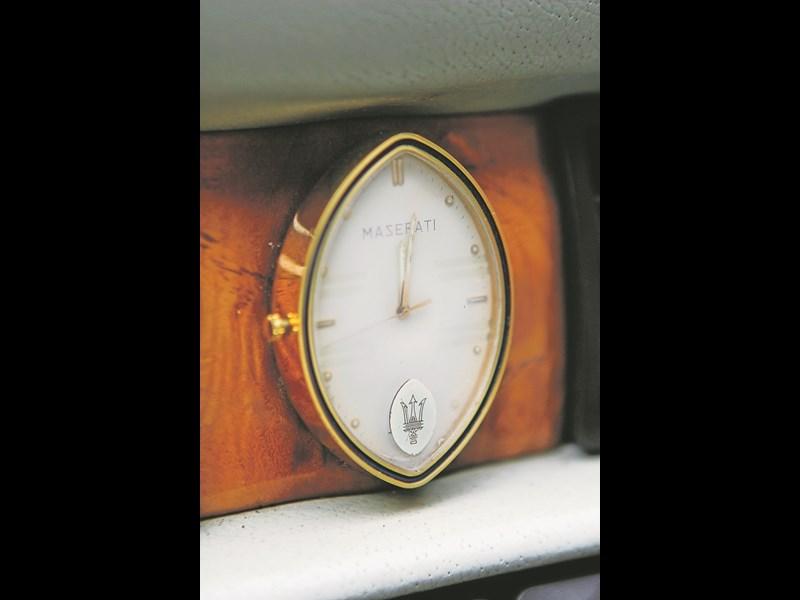 Maserati biturbo clock
