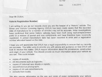 Dvla Car Ownership Appeal Letter Template