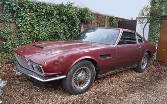 Last Ever Aston Martin Dbs To Go Under The Hammer CCFS UK - Old aston martin for sale