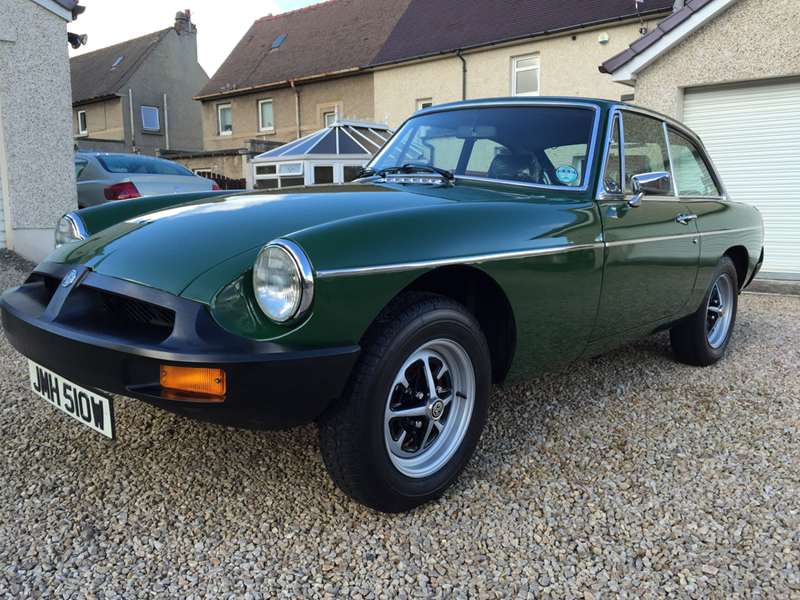 Timewarp Mgb Gt To Be Sold At Silverstone Auctions Nec Sale