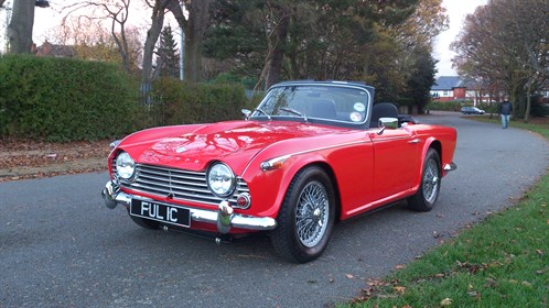 Triumph Tr4 A Vs Morgan Plus 4 Clash Of The Classics Ccfs Uk