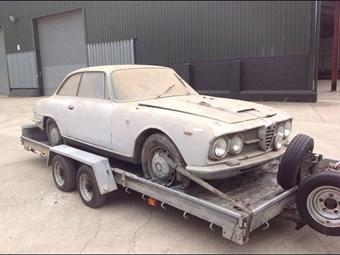 Project Of The Week Alfa Romeo Sprint CCFS UK - Alfa romeo 2600 sprint for sale