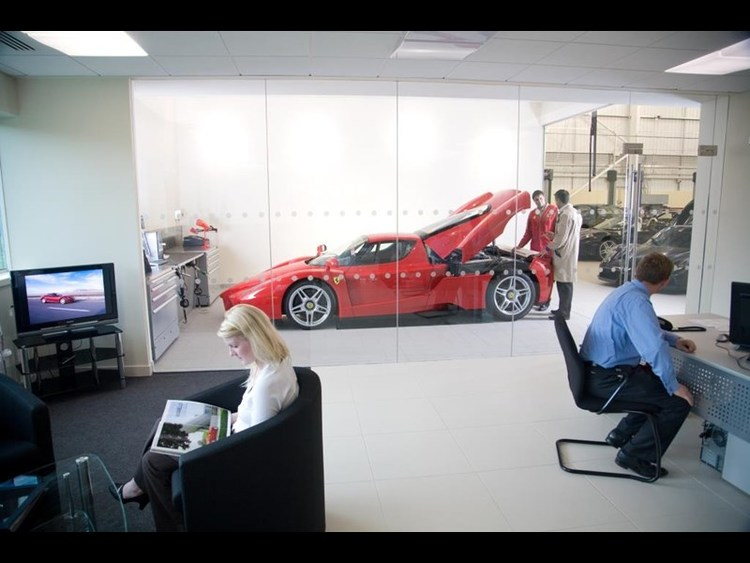 Award Winning Ferrari Main Deal HR Owen Opens Classic Cars - Cool cars service centre