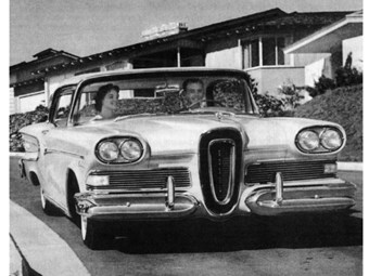 ford edsel marketing strategy Ford's ceo's wanted to repeat the same success by producing a car the market has never experienced before according to their marketing strategy in 1955 ford motors have already began the concept design of their new car edsel.