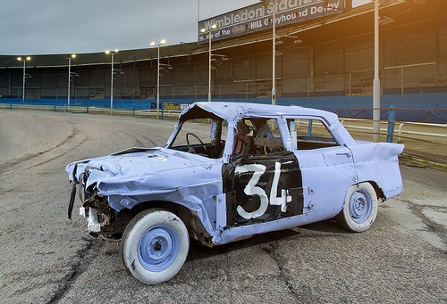 police to check for stolen classics at banger races ccfs uk