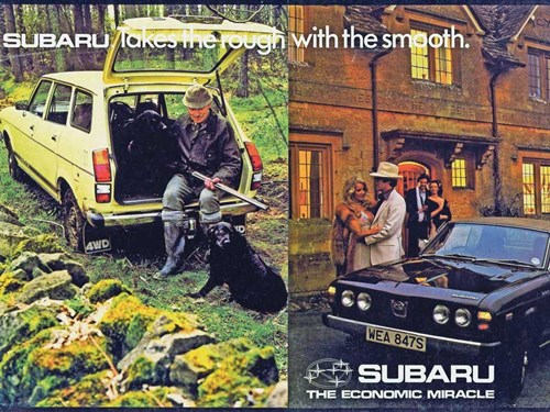 Forgotten Hero Subaru Leone 1600 Gl1800 Glf Ccfs Uk