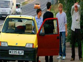 The Inbetweeners Car Fiat Cinquencento Ccfs Uk