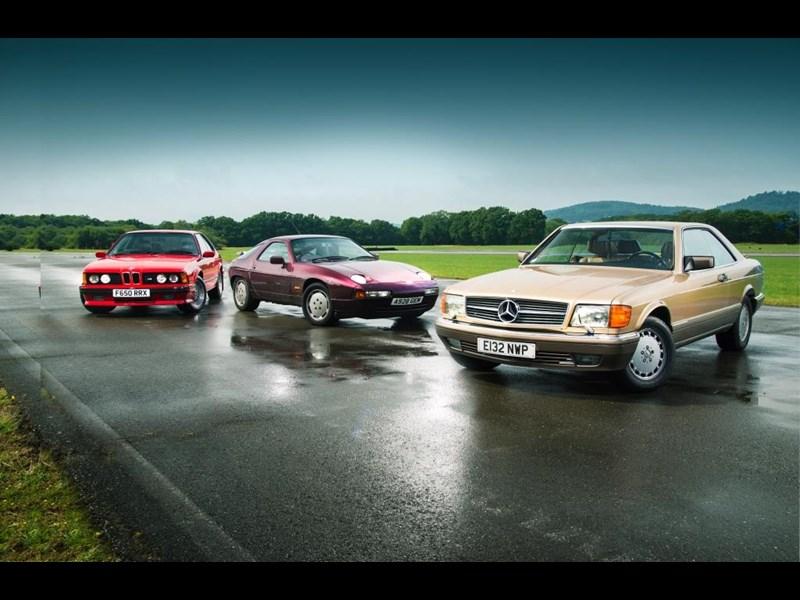 Beasts Of The 'bahn: Mercedes Benz 560 Sec Vs Bmw M635 Csi Vs