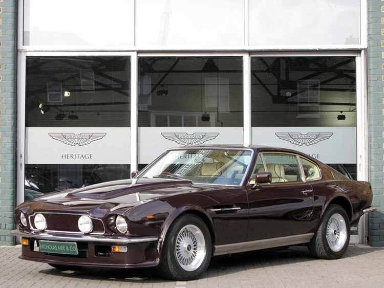 Sir Elton Johns Aston Martin V Vantage For Sale CCFS UK - Aston martin v8 for sale