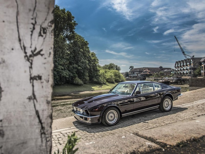 Sir Elton John's Aston Martin V8 Vantage for sale