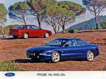 Forget the dubious name and the build quality woes - The Ford Probe is great fun.