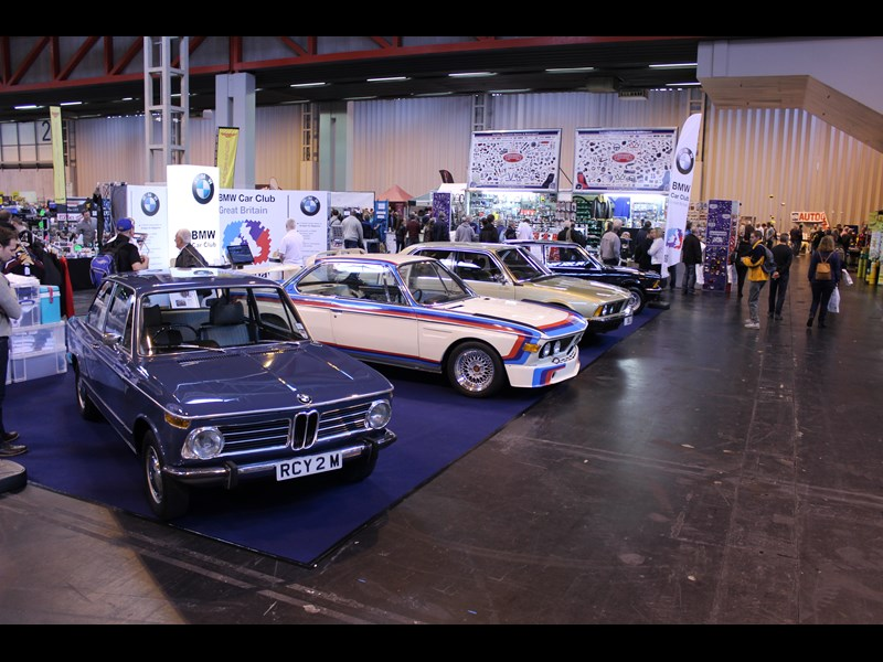 london classic car show.JPG