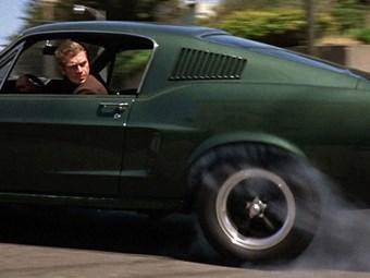Did Steve McQueen do all his own driving in Bullitt?