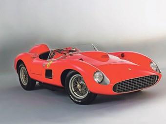 1957 Ferrari 335 Sport Scaglietti, £24.7m.