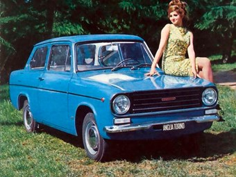 Who else remembers the Ford Anglia Torino?
