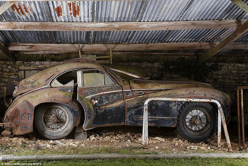 Huge Stash Of Classic Cars Found In Farm Garage In France Ccfs Uk