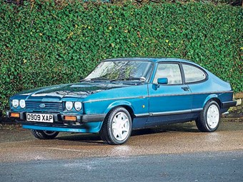 The Ford Capri 280 is dubbed Brooklands because of its colour.