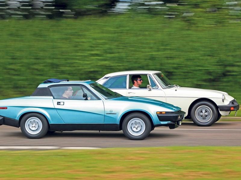 Clash Of The Classics: Mgb Gt Vs Triumph Tr7   CCFS UK