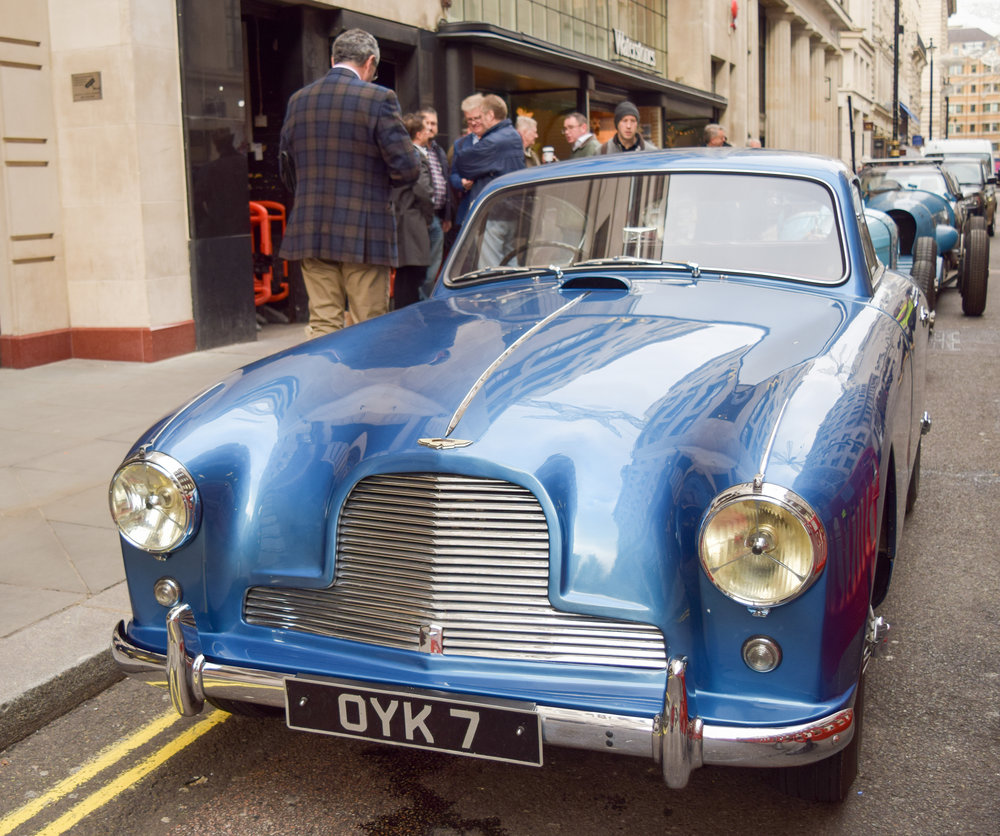 Donald Campbell's Glorious Aston Martin DB2/4