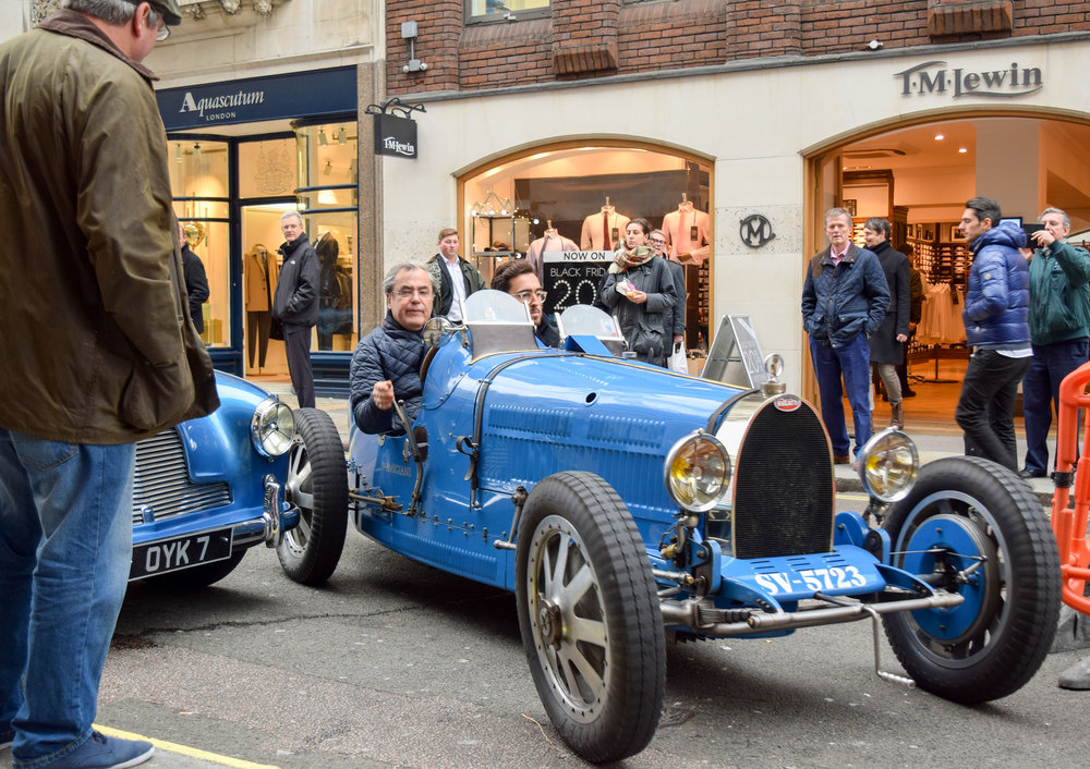 Vintage Racing Bugatti