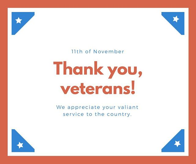 Thank you to all of our veterans for your service of our country! . . . . . #veteransday #sustainability #veteran #us #thankful #greenerworld #grateful