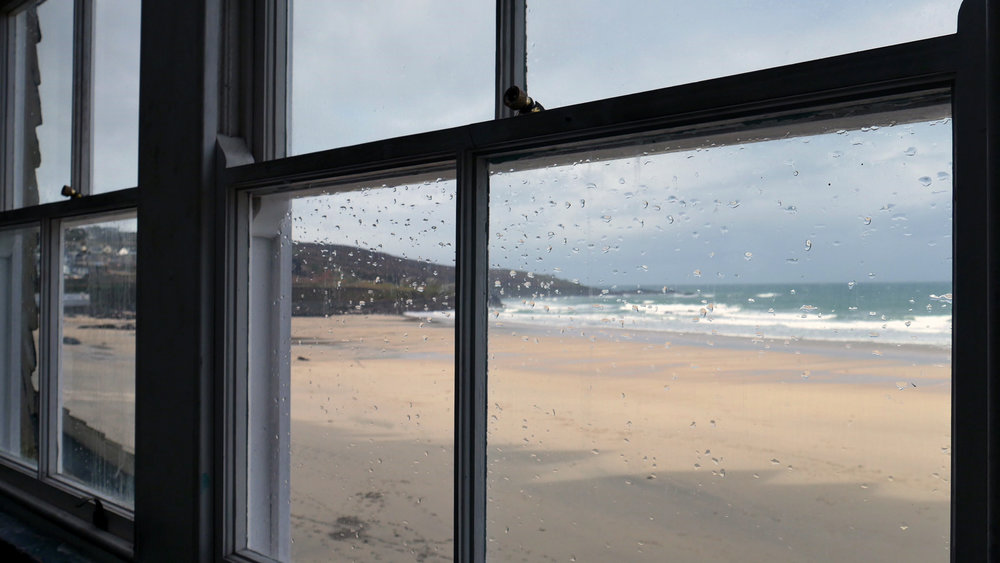 View from Porthmeor Studios