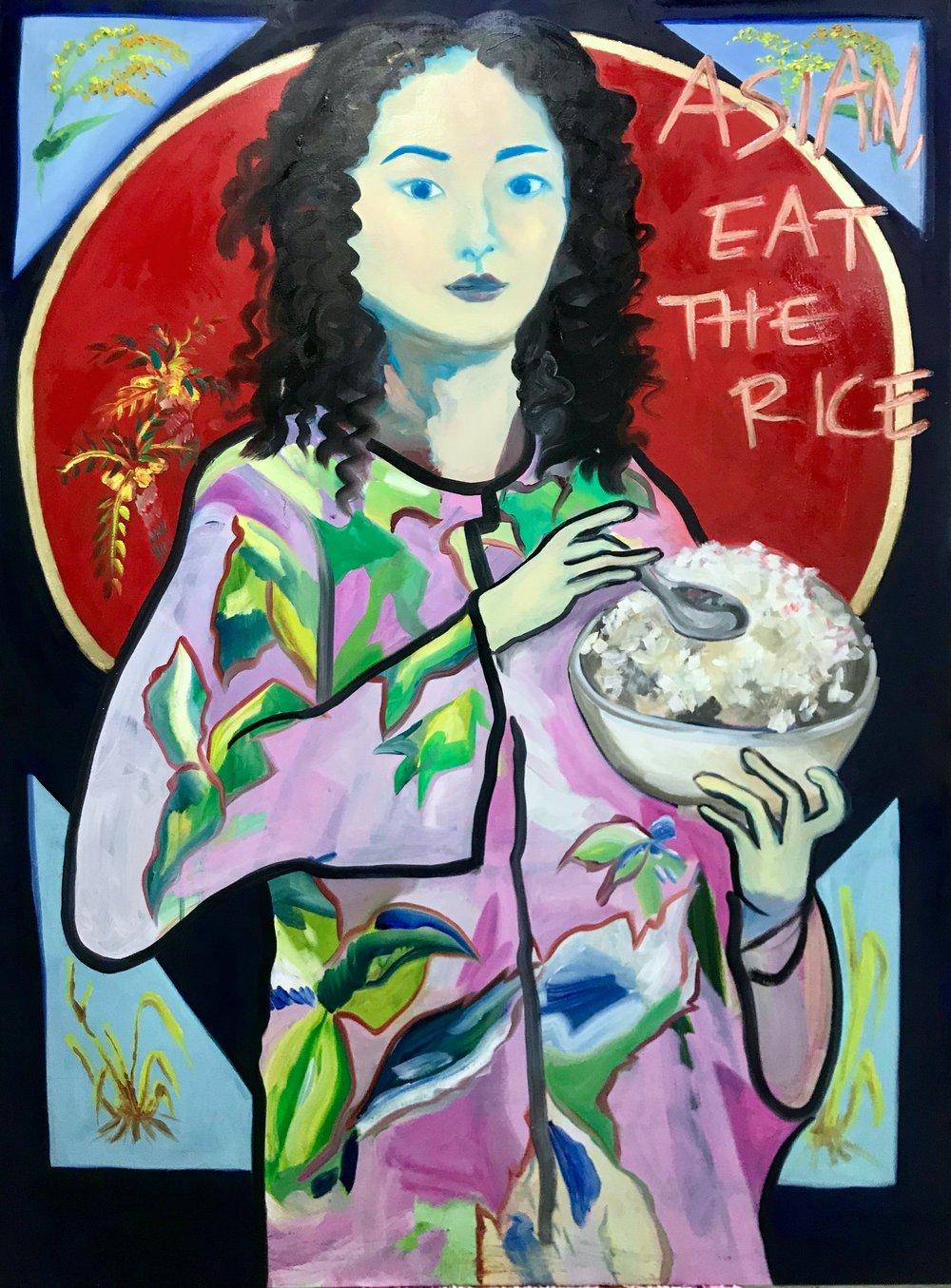 Asian, eat the rice.JPG