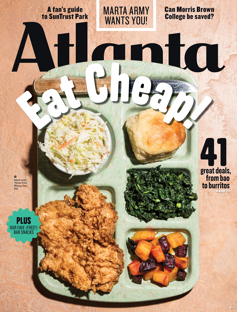 Atlanta Magazine Cheap Eats '17
