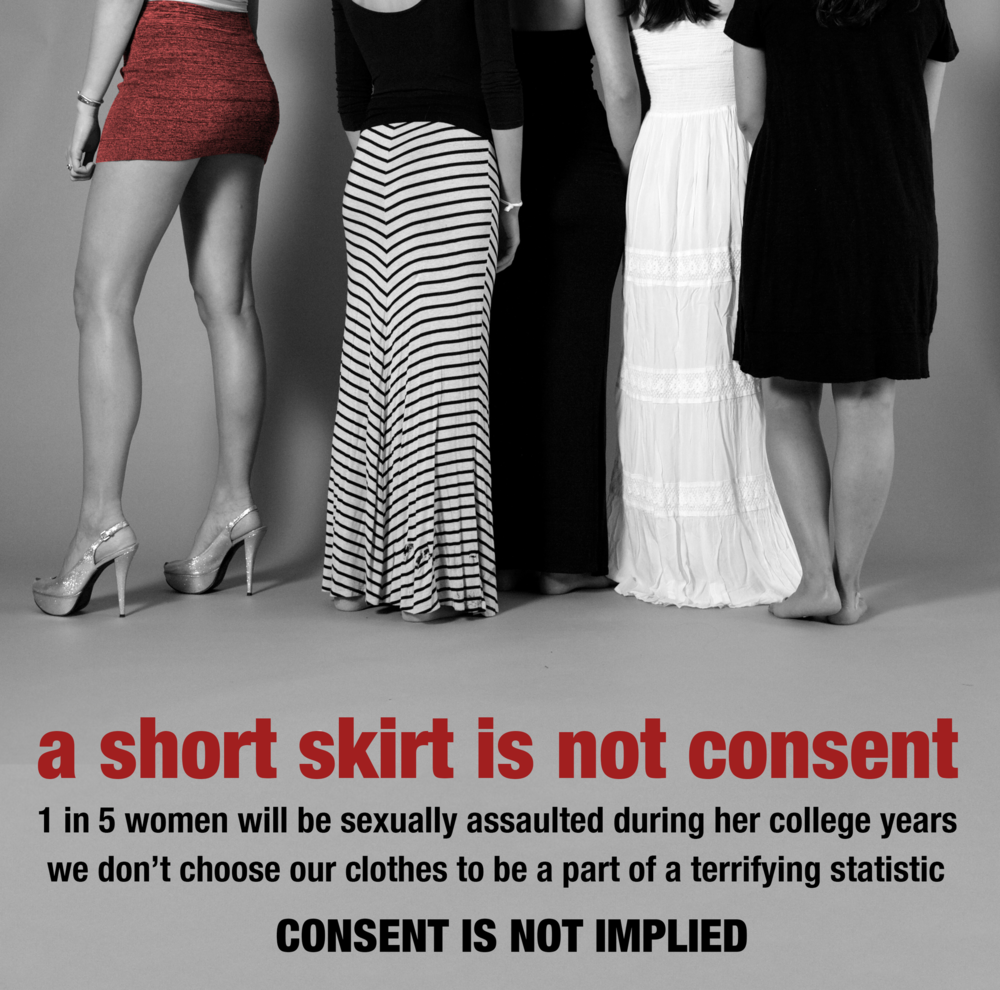Poster design for class 5 - In My First Ever Design Class Visual Communication Design I Our Final Project Was To Create A Poster To Raise Awareness About Sexual Assault On College