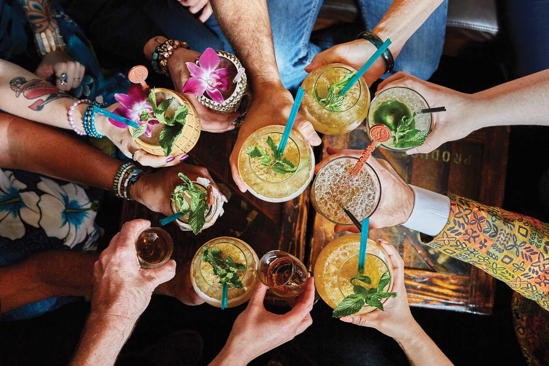Image result for people enjoying cocktails