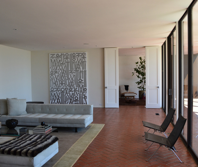PRIVATE RESIDENCE BEVERLY HILLS, CA ARTIST: RETNA