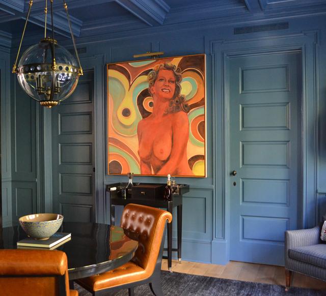PRIVATE RESIDENCE BEVERLY HILLS, CA ARTIST: ANTON HENNING