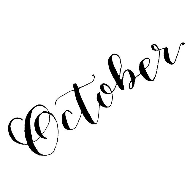 Shout out to October! I'm ready for crisp fall mornings, pumpkins, and all the cozy candle scents.