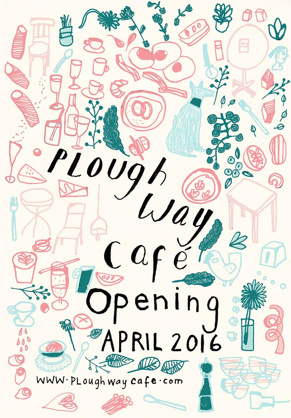 Plough Way Cafe Window