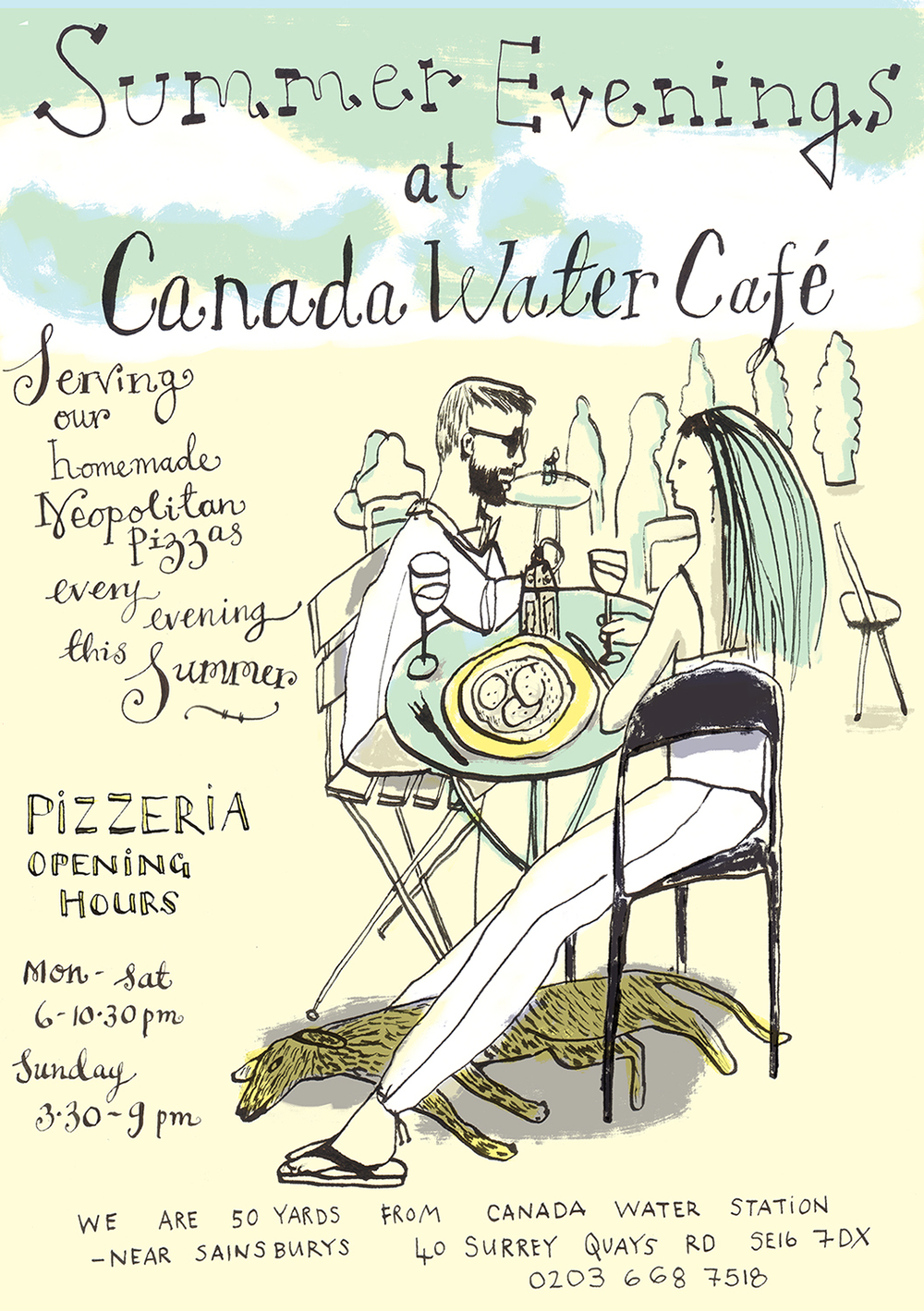 Summer Evenings | Canada Water Cafe