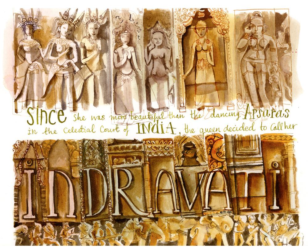 Indravati : Apsanas