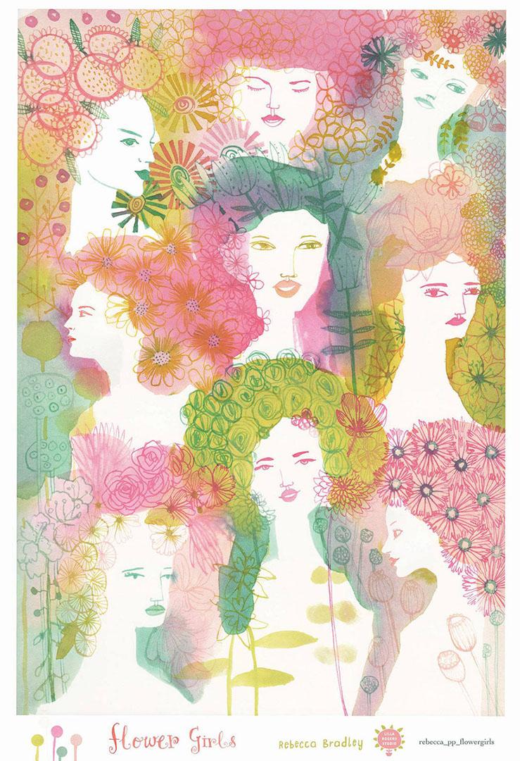 Flower girls  Pattern
