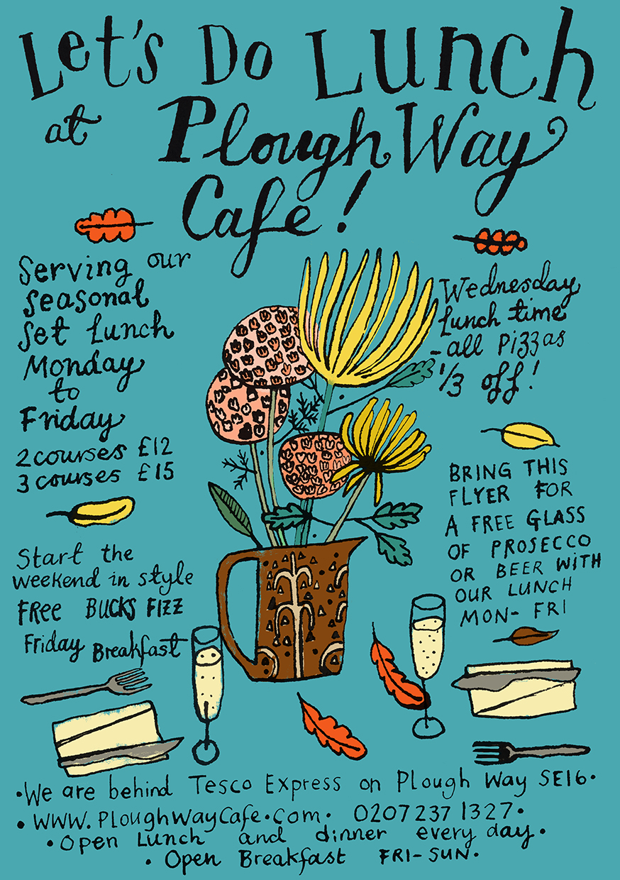 Plough Way Cafe - FALL FLYER