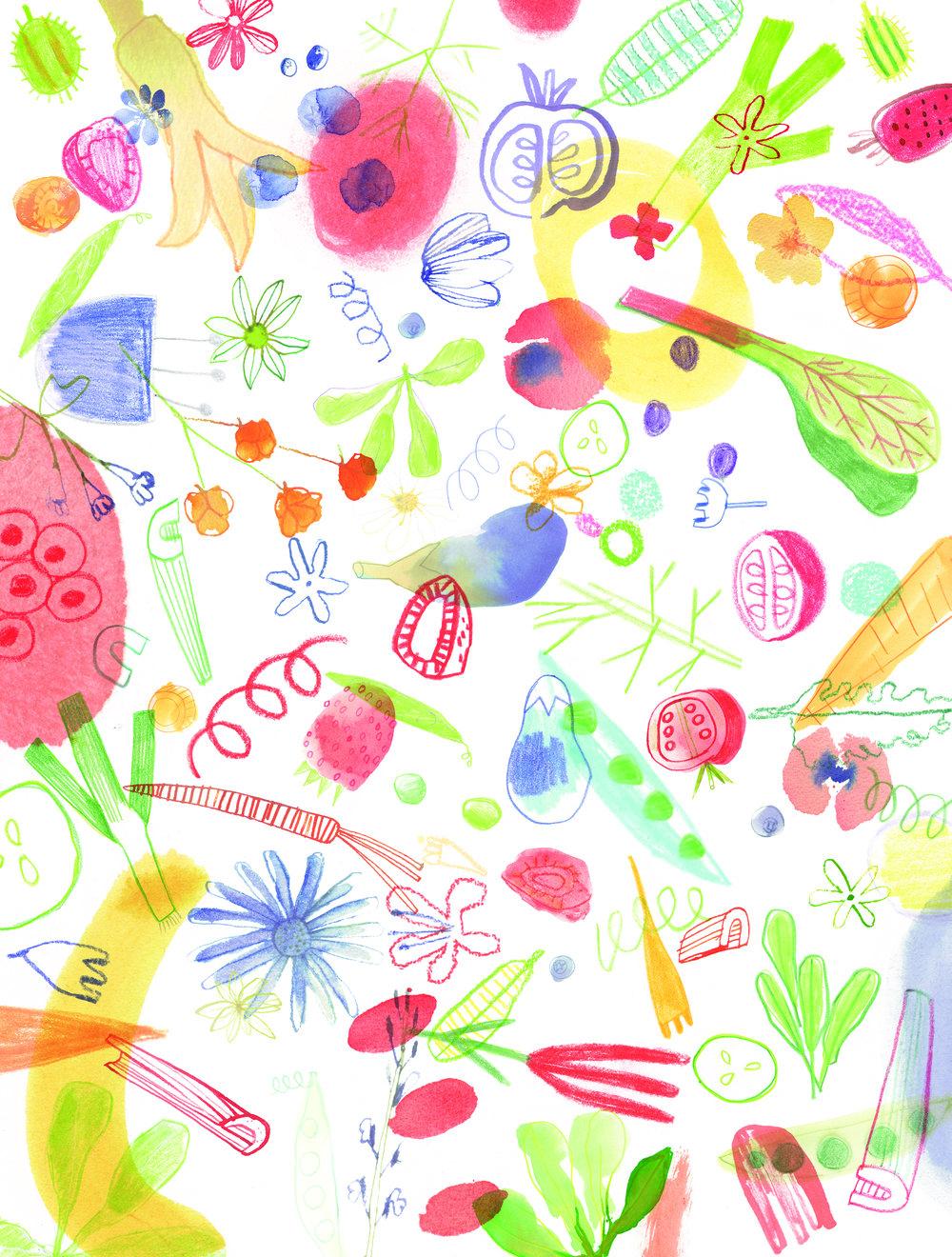 MA VIE | Spring Pattern