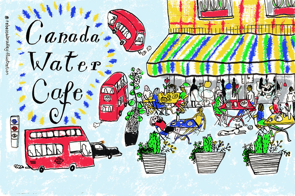 SPRING HEADER | CANADA WATER CAFE