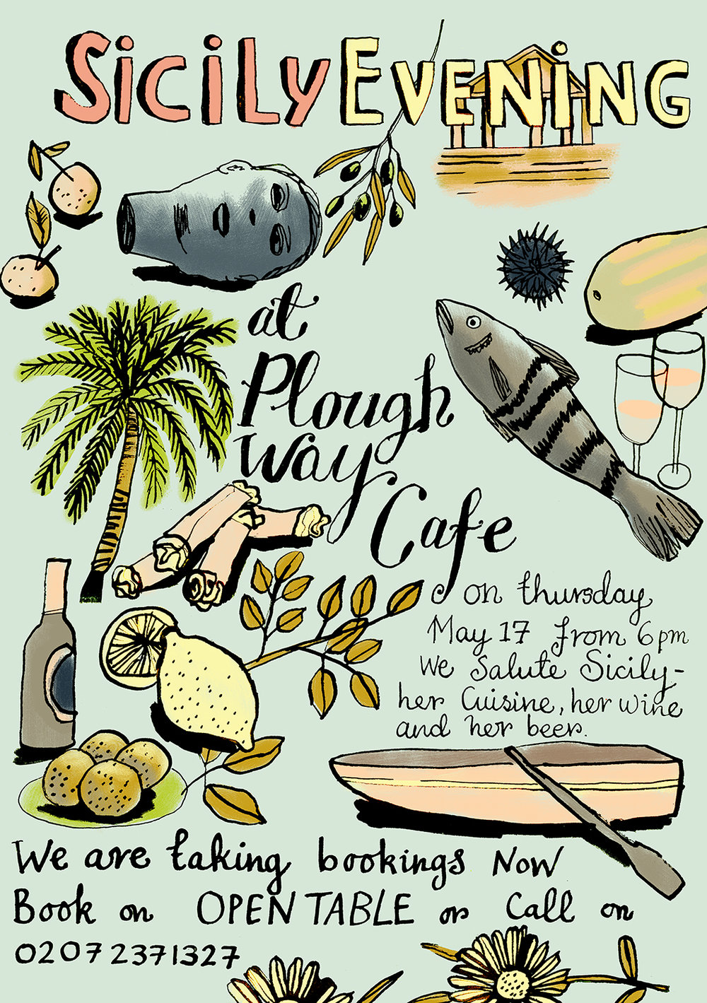 SICILY FLYER | PLOUGH WAY CAFE