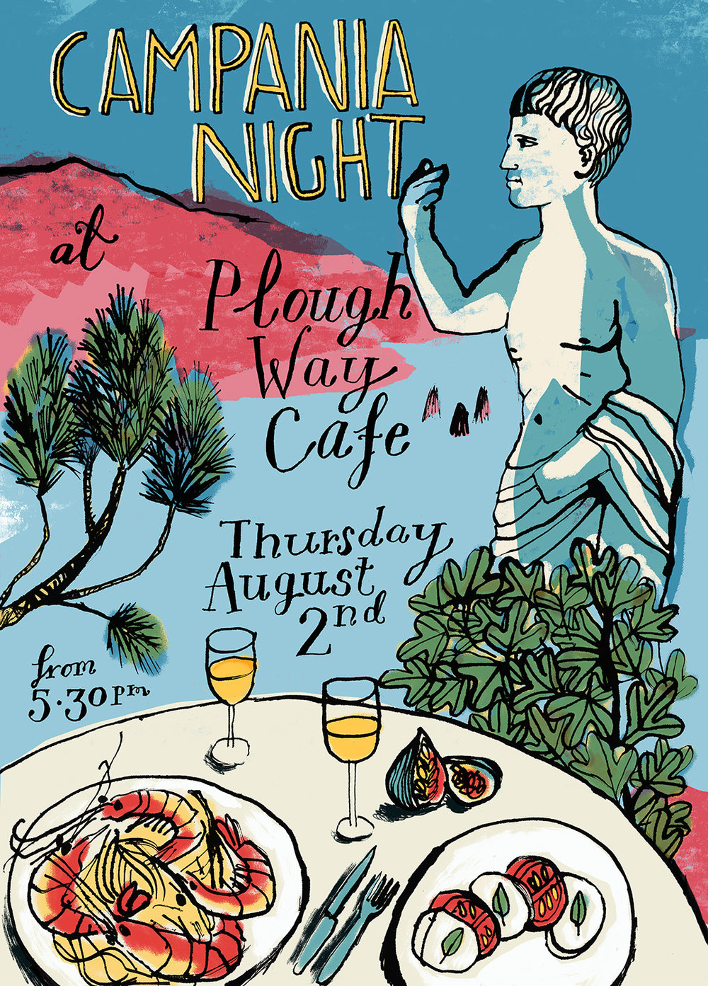 Plough Way Cafe | Campania Night