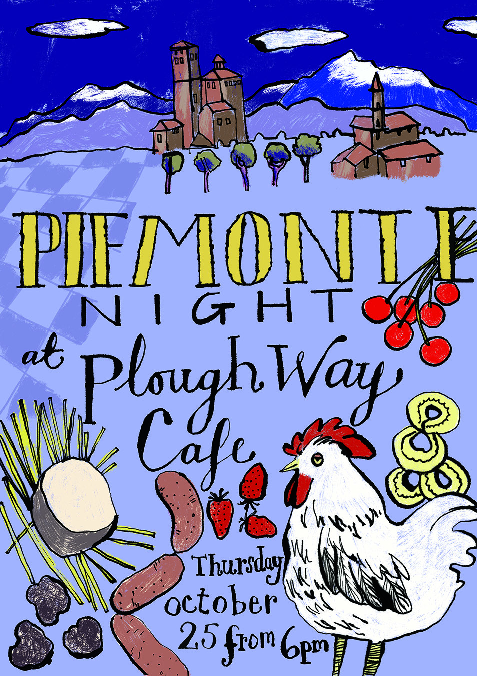 Plough Way Cafe | Flyer