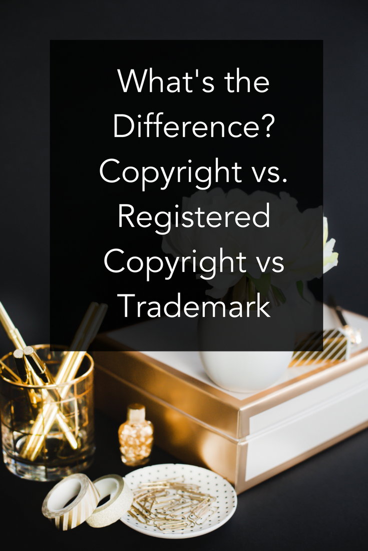 Whats the difference copyright vs registered copyright vs copyright vs registered copyright vs trademark biocorpaavc