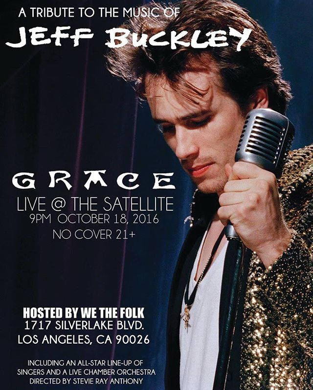 I'm the luckiest lady ever getting to sing at this Jeff Buckley tribute tonight with some of LA's finest musicians! Come out if you love ya some JB.
