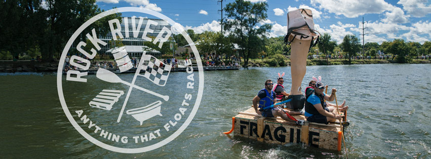 Rock River Anything That Floats Race (RRATFR) | Rockford, Illinois @ Rockford Illinois | Loves Park | Illinois | United States