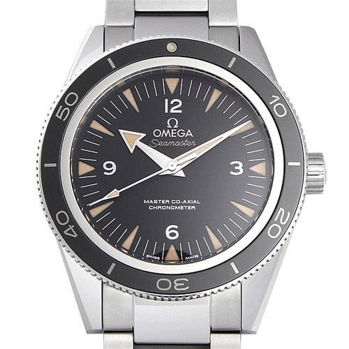 Omega Seamaster 300m Automatic Black Dial Men S Watch 233 30